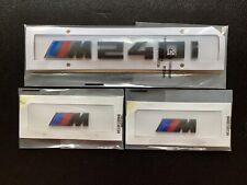 GLOSS BLACK BMW M240i + FENDER BADGE X2 CUSTOM REAR LETTERING 1 SERIES 3M UK