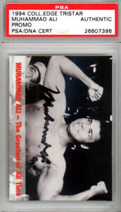 Muhammad Ali Autographed Signed 1994 Collectors Edge Card PSA/DNA 26607396
