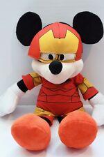 Mickey Mouse Disney Marvel Super Hero Squad Iron Man Costume Plush Toy 2013