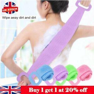 Exfoliating Scrubber Loofah Back Strap Loofa Bath Shower Body Massage Clean Body