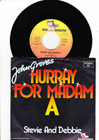 "7"" John Groves - Hurray for Madam A"