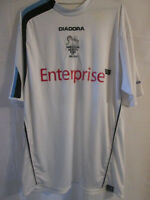 Preston North End 2005-2006 Match Worn diadora maglia Home Football Shirt /9343