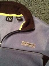 EUC ! GAP Boy XL Blue  Half Zip Front Fleece Jacket