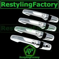 Fit 2011-2017 JEEP Grand Cherokee 4 Chrome Door Handle Cover W//O PSG keyhole