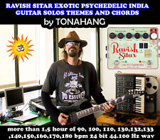 Ravish Sitar Electric Guitar Solos and Chords Sample Library by Tonahang
