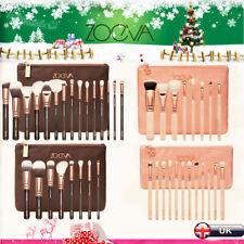 Pro Zoeva Cosmetic Powder Eyeshadow Complete Face Makeup Brush Zipper Bag Set