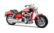 Harley-davidson 1998 FLSTF Fat Boy Maßstab 1 18 von Maisto