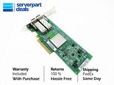 HP AJ764A 489191-001 AJ764-63002 QLE2562 Dual Port 8Gb FIBER-to-PCI X Adapter