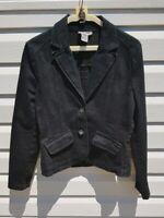 Crossroads Black Denim Jacket Cotton/Elastane Size 10