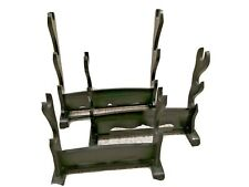 3 Wooden Sword Or Bayonet Stands / Holder / Display Racks (Different Sizes)