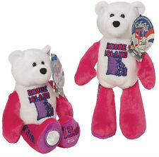 #13  Rhode Island State Quarter Coin Collectible Plush  Bear Limited Treasures