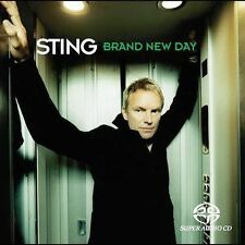 Sting ~ BRAND NEW DAY ~ sacd SUPER AUDIO CD (The Police) ** OFFICIAL **