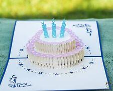 Handmade 3d pop up birthday cards
