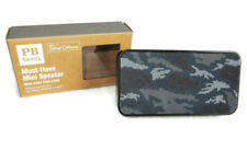 "Pottery Barn Teen Must Have Mini Speaker Camo 4.5"" MP3 Ipod Cell Phone Boys New"