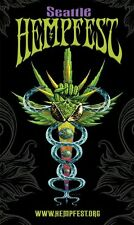 Seattle HEMPFEST® Official Caduceus Poster