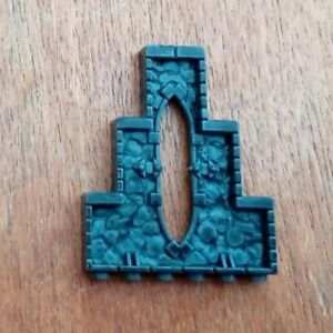 Mega Bloks Dragons Spare Parts - 1 x AM03232 Wall Piece with Window