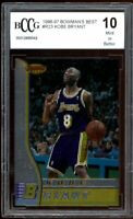 1996-97 Bowman's Best #R23 Kobe Bryant Rookie Card BGS BCCG 10 Mint+