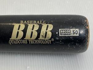"Pinnacle Sports BBB Quadcore Technology Baseball Bat 32""/28 oz BBCOR .50 Red Grp"