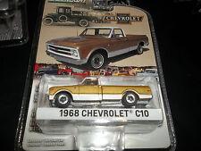 GREENLIGHT 1/64 ANNIVERSARY SERIES 3 GOLD 1968 CHEVROLET C10