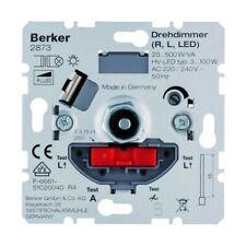 Berker Dimmer Dreh-/Druckknopf 20-500W LED Unterputz - 2873