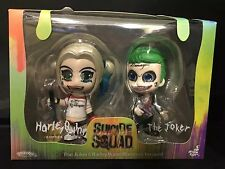 2X Collectible Suicide Squad Figure The Joker and Harley Quinn Hammer Toy Gift