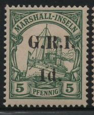 German Occupation New Britian Scott #31f Mint OG Stamp GRI O/P Marshall Islands