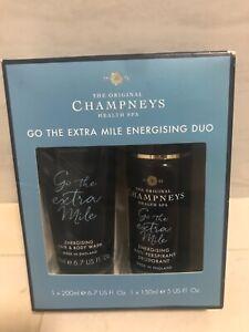 Men Champneys go the extra mile energising duo new