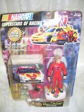 NASCAR SUPERSTARS OF RACING BILL ELLIOTT FIGURE HELMET CARD TROPHY STAND 1997