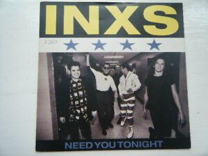"INXS - NEED YOU TONIGHT - 7"" SINGLE - ROCK / 80'S / SOFT ROCK"