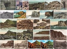 More details for northern ireland giant's causeway vintage postcards some real photos.