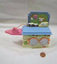 Fisher Price Loving Family Dollhouse Laundry Room Washer Dryer Ironing Board