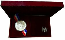 1984 S Silver Proof Olympic Los Angeles Commemorative Dollar Set ☆☆ Box W/COA