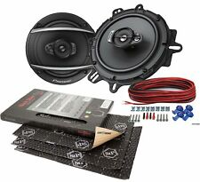 Opel Zafira a 99-05 Pioneer Altavoces 165mm Front + Stp Alubutil Aislamiento