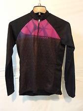 Louis Garneau Women's Gardena 2 Long Sleeve Cycling Jersey Large Black/Purple