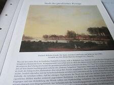 Berlin Archiv 4 Königsstadt 3082 Spree unterbaum bis Bellvue 1785 F. W. Schaub