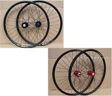 "New Mavic 319 Rim 2 Color Novatec MTB Mountain Bike 26"" F&R Wheels Disc Wheelset"