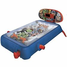 New Marvel Avengers Assemble Electronic Table Top Super Pinball Machine Toy Game