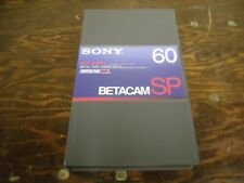 Sony BetaSP Tapes - 60min