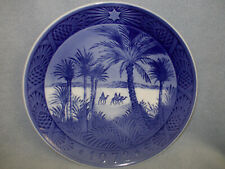 Royal Copenhagen 1972 Porcelain Christmas Plate - In the Desert