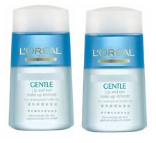 L'oreal Gentle Lip and Eyes Make-up Remover for Waterproof Make-up 125ml x 2