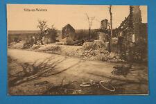Meuse 55 Lorrain CP CPA Ville en Woevre Ville-en-Woëvre 1916 Velo brouette 1.WK