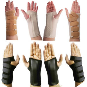 Right Left Hand Carpal Tunnel Wrist Brace Support Sprain Splint Straps S M L XL