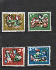 WEST GERMANY MNH STAMP DEUTSCHE BUNDESPOST 1962 HUMANITARIAN RELIEF SG 1299-1230