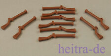 LEGO Piraten - 10 x Muskete / Gewehr braun / Reddish Brown Musket / 2561 NEUWARE