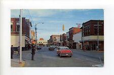 Florence SC Evans Street view, old cars, men retro suits, hats, Royal Crown Cola
