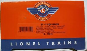 Lionel 6-18319 PWC Post War Celebration New Haven EP-5