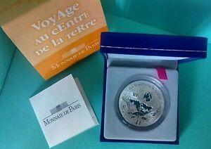 """France 2006 1,5 Euro Argent """"Jules Verne/Voyage Centre Terre"""" Belle-Epreuve/BE"""
