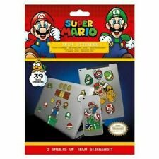 Super Mario Tech Stickers Official Merchandise