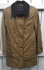 New Gil Bret Women's Long Jacket Tan - Brown Collar - Size UK 12 - US 10 - EU 40