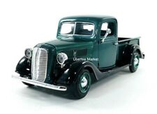 1937 Ford Pickup Truck Green 1:24 Diecast Vehicle Motormax 73233